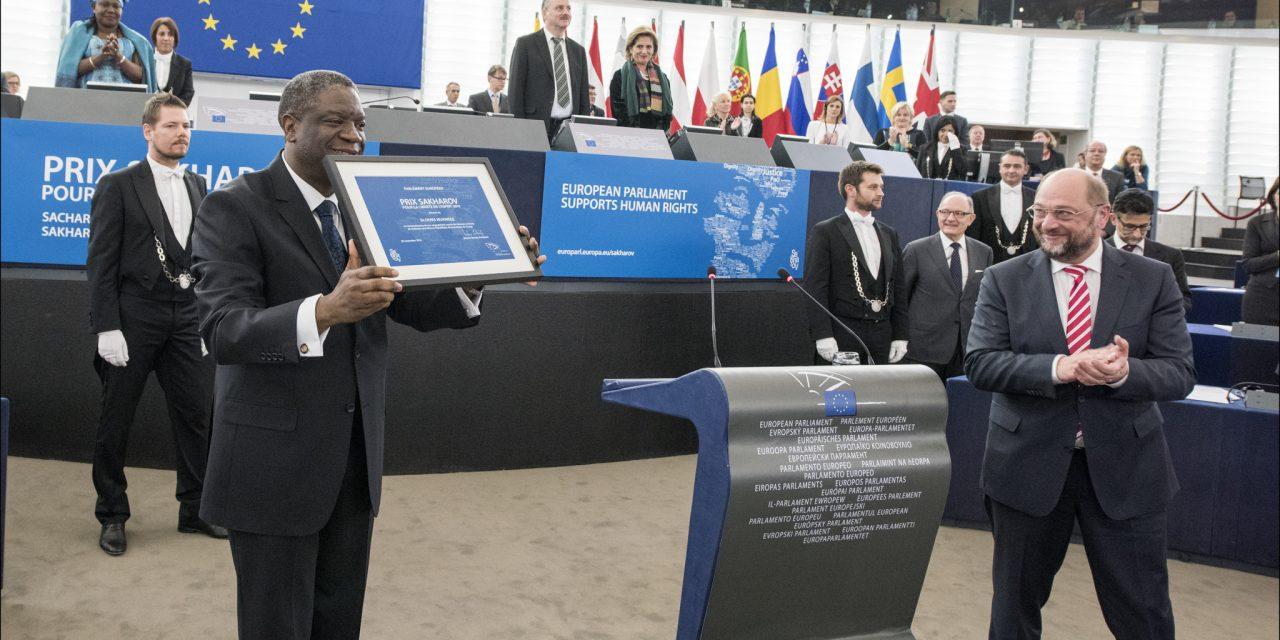 «Le Dr Denis Mukwege mérite largement de recevoir le prix Sakharov» disent les députés S&D