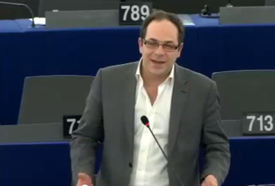 Intervention d'Emmanuel Maurel contre le CETA au Parlement Européen