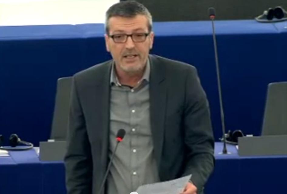 Intervention d'Edouard Martin pour la défense du droit de grève