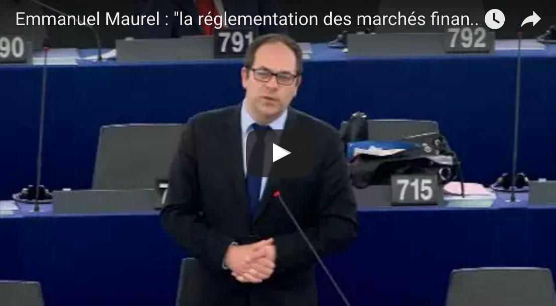 Emmanuel Maurel : «la politique commerciale de l'Union suscite bien des craintes et du scepticisme»