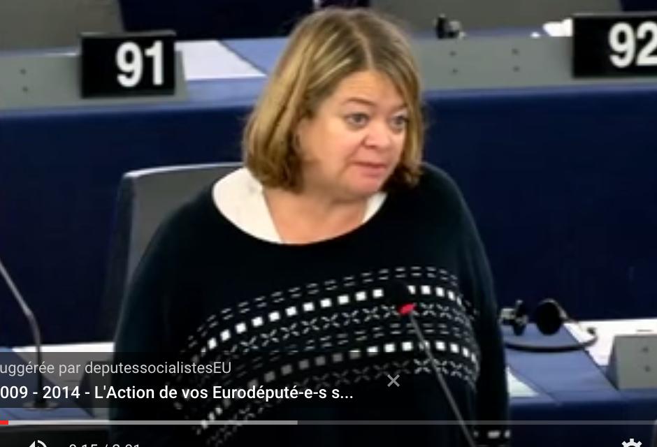 Intervention d'Isabelle Thomas dans le débat sur les accords de pêche