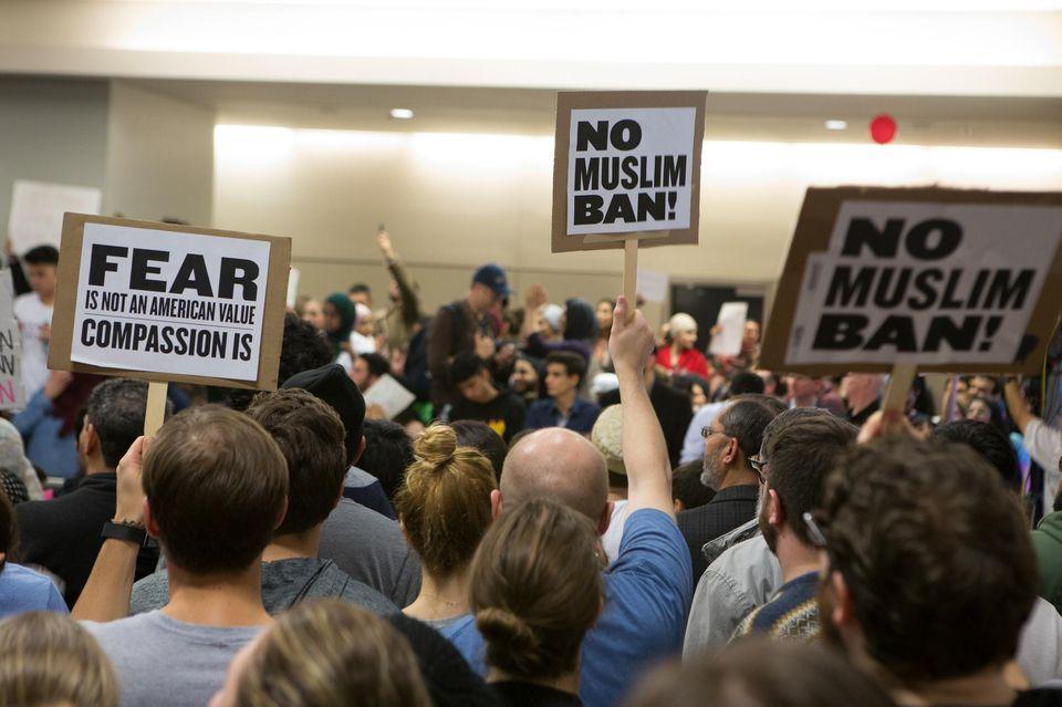 Débat sur le #MuslimBan au Parlement européen